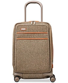 "Tweed Legend 20"" Global Carry-On Expandable Spinner Suitcase"