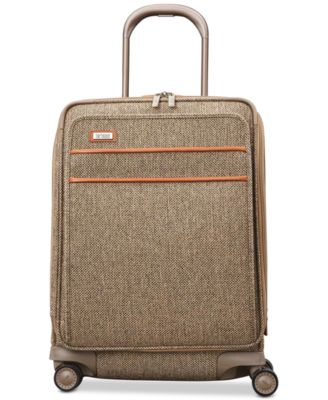 """Tweed Legend 21"""" Domestic Carry-On Expandable Spinner Suitcase"""