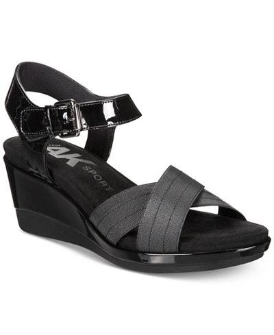 Anne Klein Sport Paprika Wedge Sandals