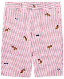 Polo Ralph Lauren Embroidered Shorts, Big Boys