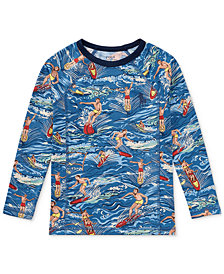 Polo Ralph Lauren Printed Rash Guard, Toddler Boys
