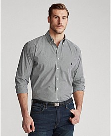 Men's Big & Tall Classic Fit Poplin Shirt