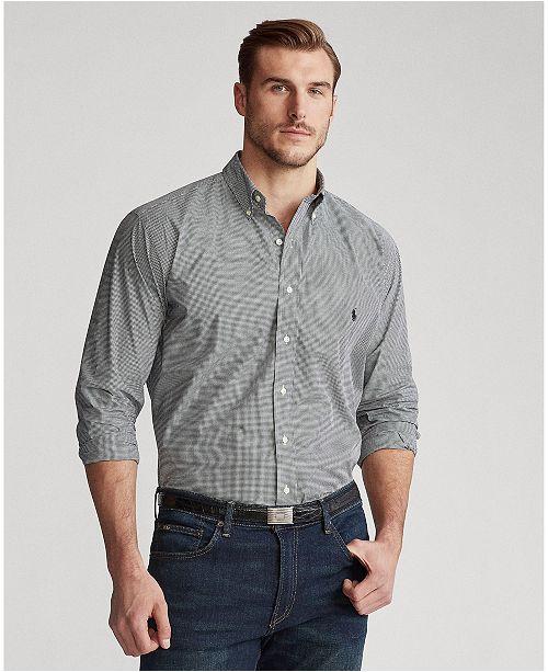 649cde4ae ... Shirt  Polo Ralph Lauren Men s Big   Tall Striped Classic ...