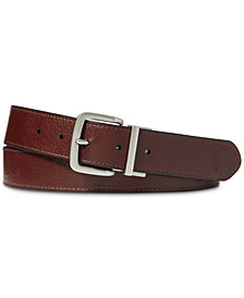 Polo Ralph Lauren Men's Big & Tall Reversible Leather Belt