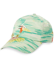 Polo Ralph Lauren Men's Graphic Embroidered Chino Baseball Cap