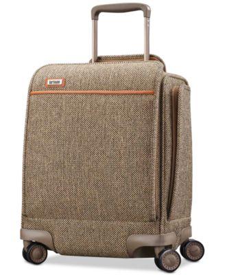 "Tweed Legend 16.5"" Underseat Carry-On Spinner Suitcase"
