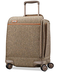 "Hartmann Tweed Legend 16.5"" Underseat Carry-On Spinner Suitcase"