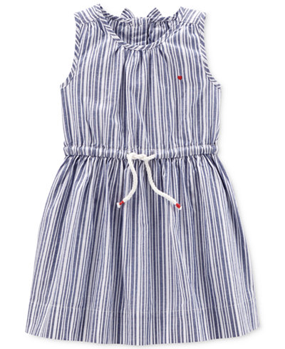 Carter's Striped Cotton Dress, Little & Big Girls