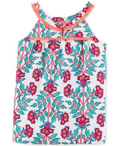 Carter's Floral-Print Top, Little & Big Girls