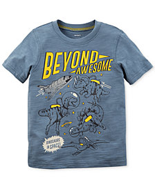 Carter's Dino Graphic-Print Cotton T-Shirt, Little Boys