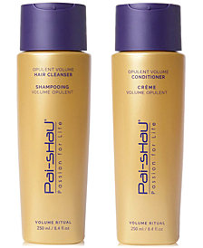 Pai Shau Opulent Volume Hair Cleanser & Conditioner (Two Items), 8.4-oz., from PUREBEAUTY Salon & Spa