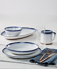 Lucky Brand Dip-Dye Dinnerware Collection, Created for Macy's