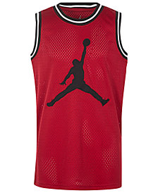 Jordan AJ 90s Jumpman Mesh Tank Top, Big Boys