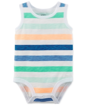 Carters Baby Boys Striped Cotton Bodysuit