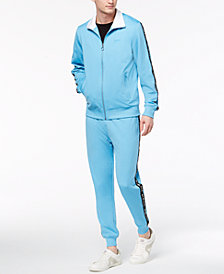 GUESS Men's Mens Taped Track Suit Separates