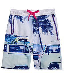 Hawke & Co. Outfitter Printed Swim Trunks, Big Boys