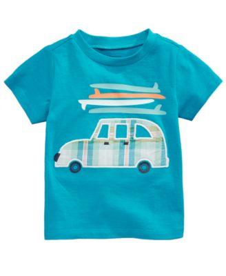 Beach Buggy-Print Cotton T-Shirt, Baby Boys, Created for Macy's