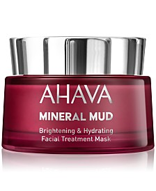 Ahava Mineral Mud Brightening & Hydrating Facial Treatment Mask, 1.7 oz.