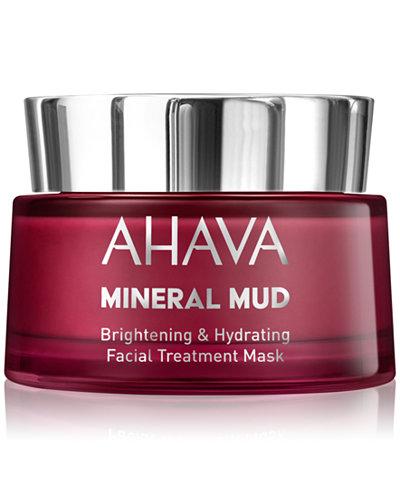 Ahava Mineral Mud Brightening & Hydrating Facial Treatment Mask, 50 ml.
