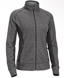 EMS® Women's Destination Hybrid Full-Zip Fleece Sweater Jacket