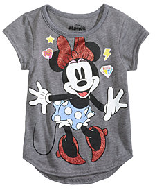 Disney's® Happy Minnie T-Shirt, Little Girls