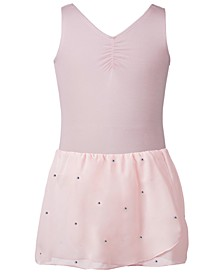 Sparkle-Skirt Leotard, Toddler, Little & Big Girls