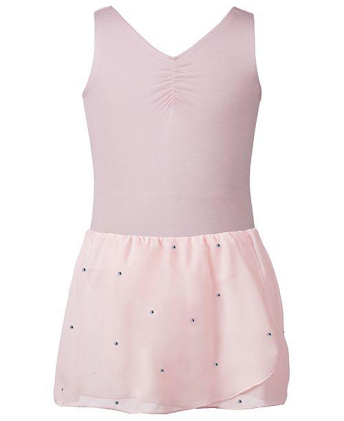 Flo Dancewear Sparkle-Skirt Leotard, Toddler, Little & Big Girls