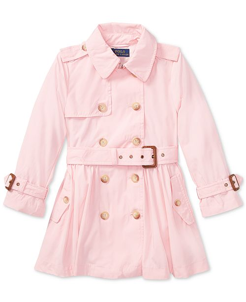 edf7d307 Polo Ralph Lauren Trench Coat, Toddler Girls & Reviews - Coats ...