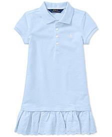 Ralph Lauren Mesh Polo Dress, Little Girls