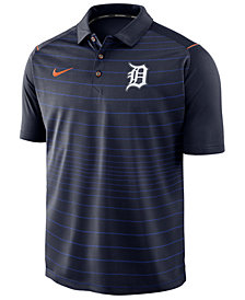 Nike Men's Detroit Tigers Stripe Polo