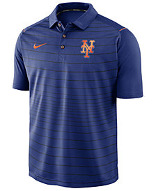 Nike Men's New York Mets Stripe Polo
