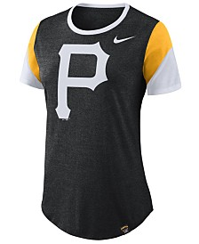 Nike Women's Pittsburgh Pirates Tri-Blend Crew T-Shirt