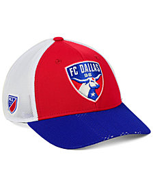 adidas FC Dallas Authentic Mesh Adjustable Cap