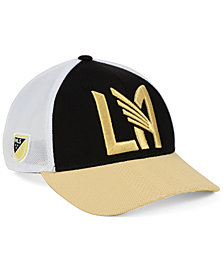 adidas Los Angeles Football Club Authentic Mesh Adjustable Cap