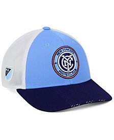 adidas New York City FC Authentic Mesh Adjustable Cap