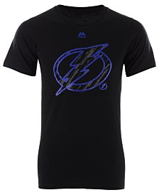 Majestic Men's Tampa Bay Lightning Hash Marks T-Shirt