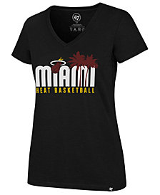 '47 Brand Women's Miami Heat Local Graphic T-Shirt