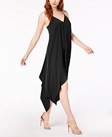 Sleeveless Handkerchief-Hem Dress, Created for Macy's
