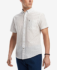 Tommy Hilfiger Men's Curt Printed Shirt, Created for Macy's