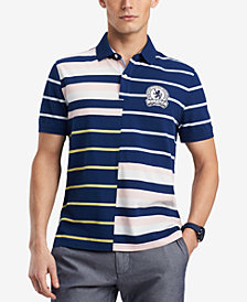 Tommy Hilfiger Men's Fillmore Classic Fit Striped Polo, Created for Macy's