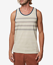 O'Neill Men's Iago Textured Striped Tank
