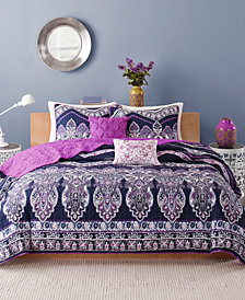 Intelligent Design Adley 5-Pc. Full/Queen Coverlet Set