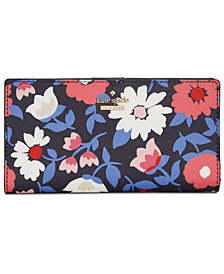 kate spade new york Cameron Street Daisy Stacy Wallet
