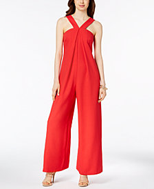 JAX V-Neck Wide-Leg Jumpsuit