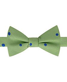 Tommy Hilfiger Men's Derby Oxford Dot To-Tie Silk Bow Tie