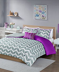 Intelligent Design Nadia 4-Pc. Twin/Twin XL Duvet Cover Set