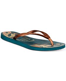 Havaianas Slim Organic Flip-Flop Sandals