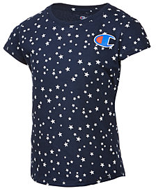 Champion Star-Print T-Shirt, Little Girls