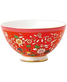 Wonderlust Crimson Jewel Bowl