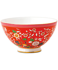 Wedgwood  Wonderlust Crimson Jewel Bowl